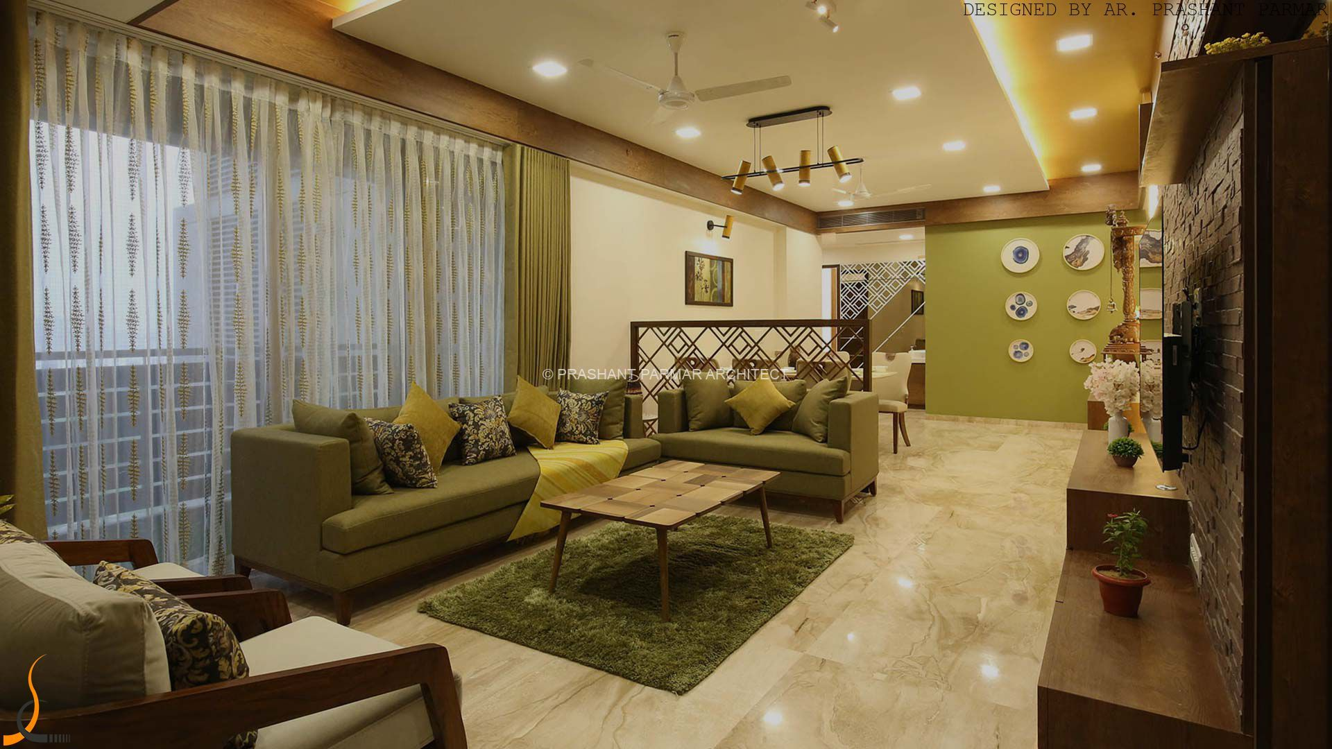 residential bungalows and apartments